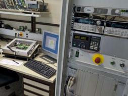 interne entwicklung von Prüfgeräten für Elektronikbaugruppen