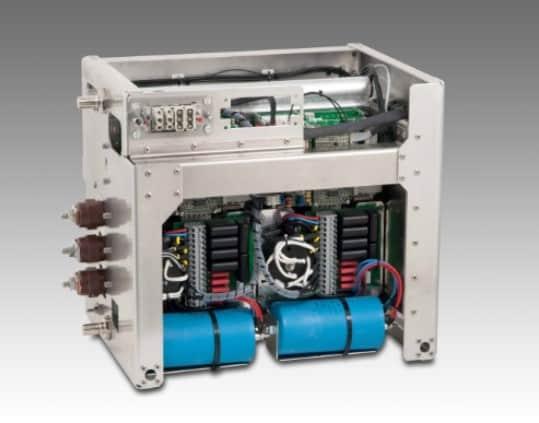 Energieversorgung mit Klima-Umrichter 50 kVA und einem Batterieladegerät